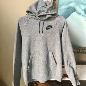 Nike | Gray Woman's Logo Hoodie
